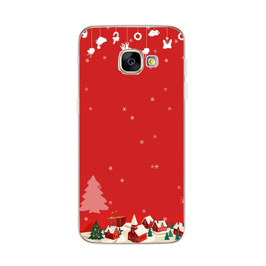 Feliz natal papai noel capa para samsung galaxy a30 a50 a5 2017 a7 a8 plus 2018 s8 s9 s10 plus lite s10e caso coque