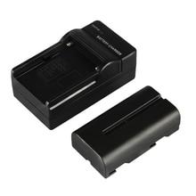 Smart Светодиодный индикатор NP-F550 Перезаряжаемые Батарея Зарядное устройство адаптер переменного тока для Viltrox монитор светодиодный видео L116T/L132T/L162T VL-40T