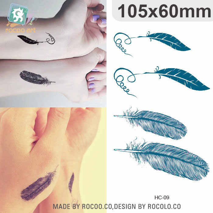 a488dd847 ... Sexy Feather Words Letters Temporary Tattoo Girl Finger Body Arm Art  Drawings Tattoo Sticker Men Makeup ...