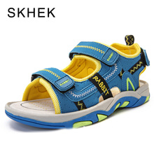 SKHEK Summer Kids Boy Girls Sandals Beach Shoes Baby Boys For And Designer Leather SKU A9
