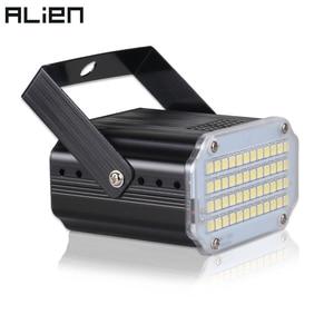 ALIEN 48 LED RGB UV White Stro