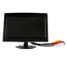 "Digital Camera 5 ""TFT LCD Monitor with Back-up Car Mount Rearview Rearview DVD VCR"