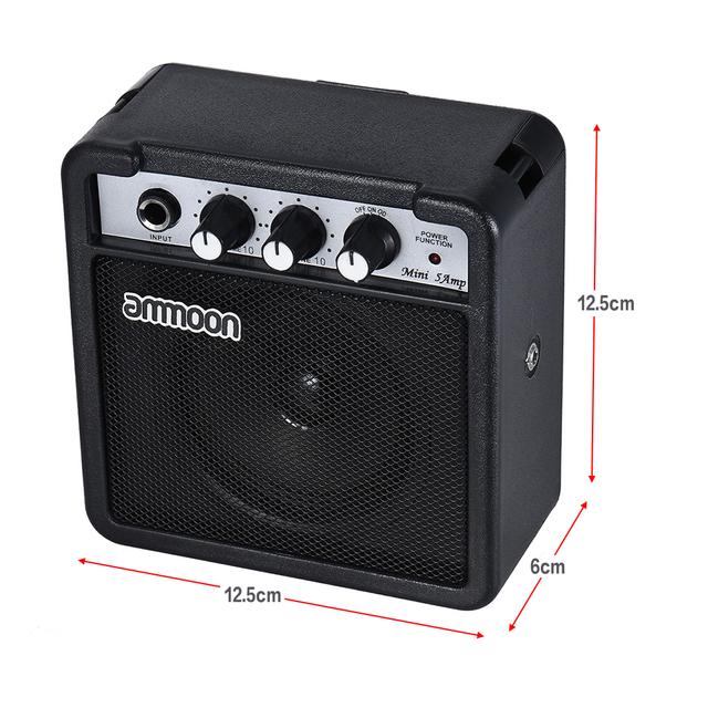 Mini 5 Watt Amplifiers for Ukulele