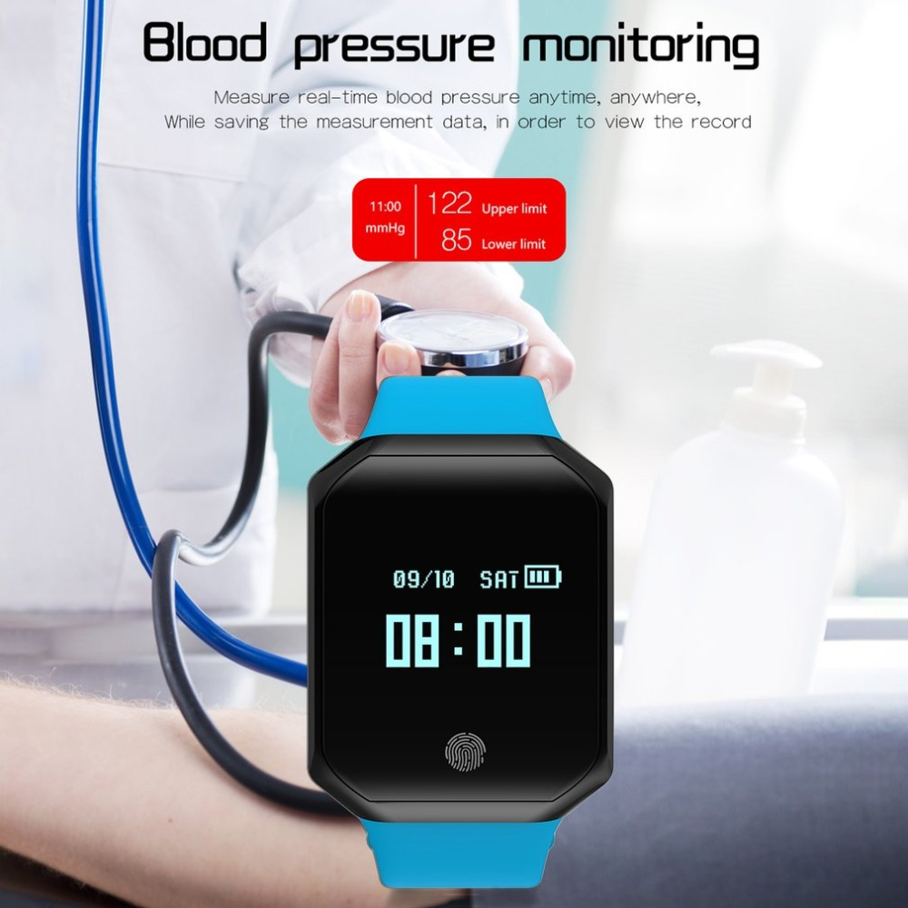 Z66 Smart Watch Heart Rate Blood Pressure Pulse Monitor Fitness Tracker Wristband Waterproof Bracelet for IOS Android все цены