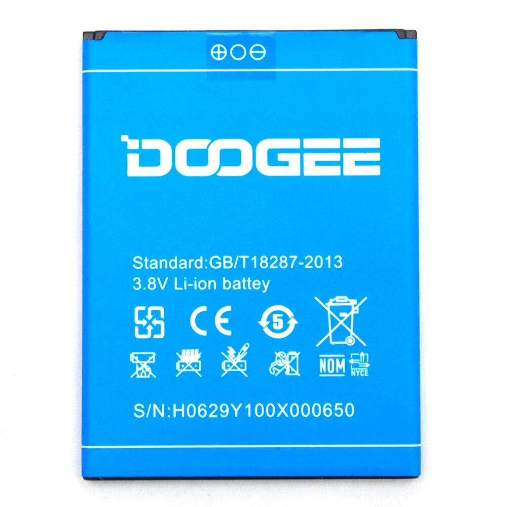 100% Оригинальные резервного 2200 мАч Батарея Для Doogee <font><b>y100x</b></font> смарт-мобильный телефон + + номер для отслеживания
