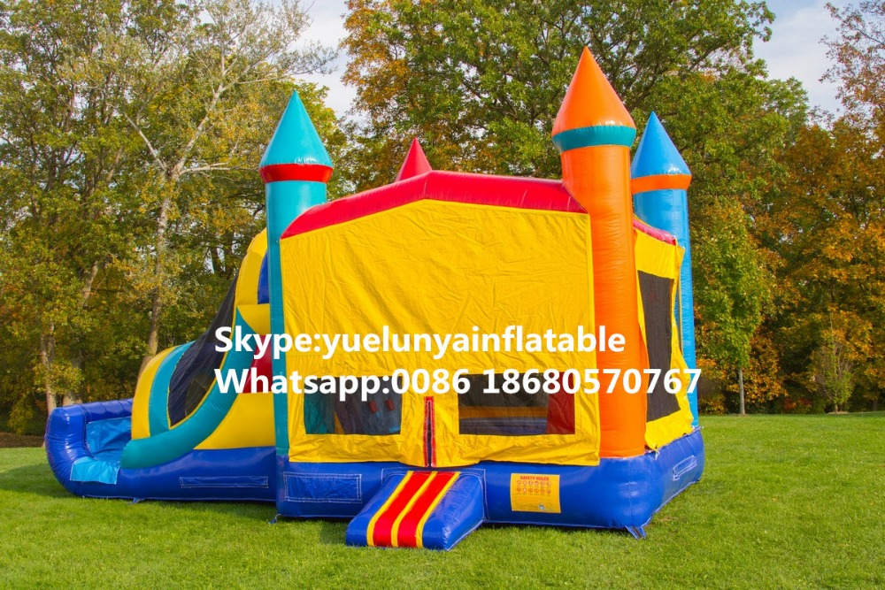 2016 Factory direct sales Inflatable slides, castle slides, trampoline castle KY-145 factory direct inflatable castle inflatable slides octopus paradise hx 150