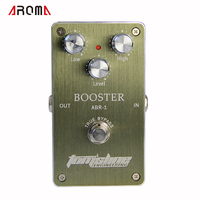 Free Shipping NEW Effect Pedal Aroma Premium Effect Pedal ABR 1 Booster AC DC Adapter Jack