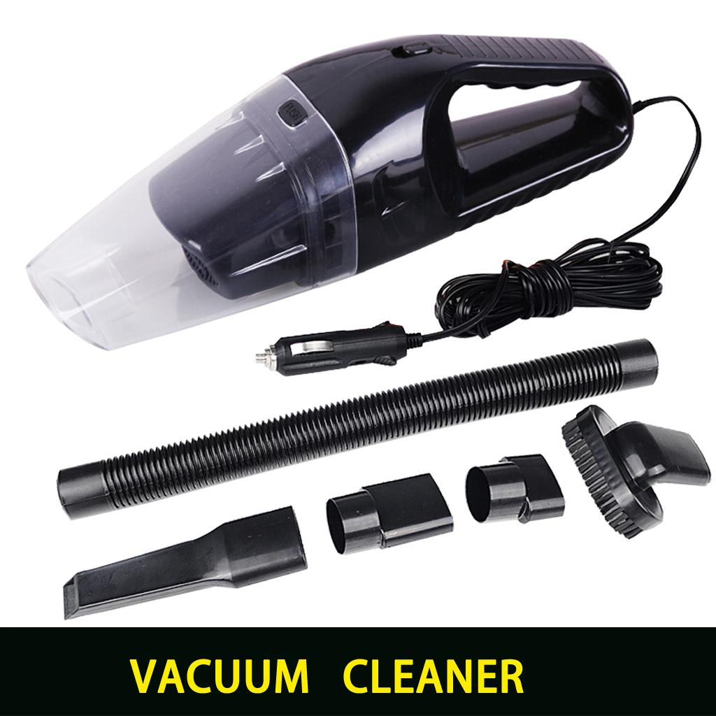 Portable font b car b font vacuum cleaner wet and dry dual use with power 120W