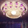 Потолочный светильник  светодиодный  с кристаллами