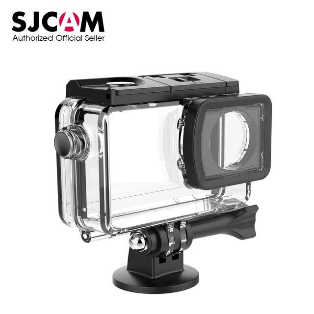 Sj8 série subaquática habitação caso à prova dwaterproof água para sj8 ar sj8 pro sj8 mais ação esporte câmera sjcam acessórios