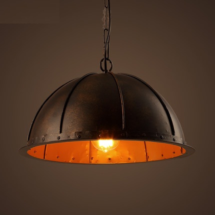 Edison Loft Style Iron Droplight RH Industrial Vintage Pendant Light Fixtures For Dining Room Hanging Lamp Indoor Lighting iron cage loft style creative led pendant lights fixtures vintage industrial lighting for dining room suspension luminaire