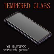 3D Curved Case Friendly Tempered Glass For Samsung Galaxy S8 Protective Film For Samsung S8 Plus Screen Protector Not Full Cover