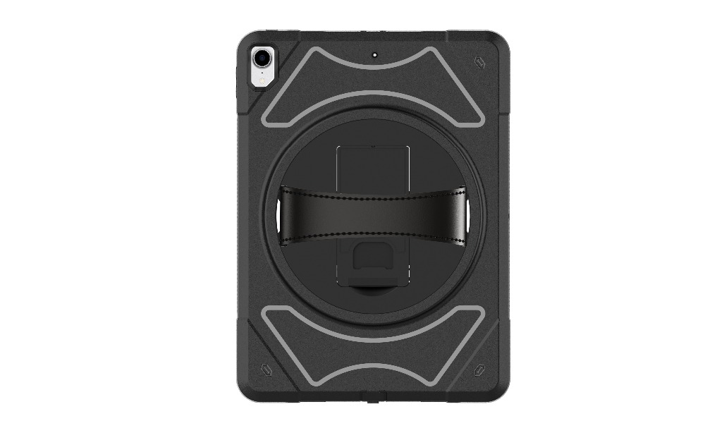 Miesherk Case for iPad Pro 12.9 inch 3rd Generation 2018 with Hand Strap and Kickstand - Shockproof Drop Protection Cover
