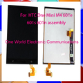 10pcs one world  high quality For HTC One Mini M4 601e 601s 601n Assembly LCD Touch Screen Complete with Frame free ship