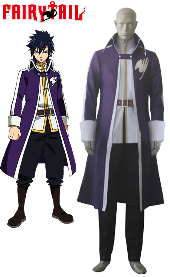 Gray Fullbuster Cosplay Fairy Tail Team A Gray Fullbuster Cosplay Costume Custom Made Any Size