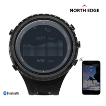 NORTHEDGE Men's Sport Digital Watch Men Military Bluetooth Call Reminder Altitude Barometer Compass Thermometer Pedometer Hours