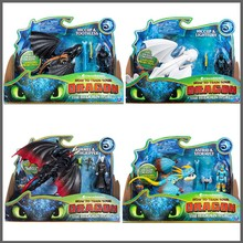 Get more info on the NEW 9 inches Night Fury Black/white Toothless PVC dragon model Figure toy Movie How To Train Your Dragon 3 action toys no box