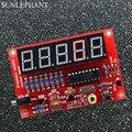 Contador de Freqüência de 1Hz-50 MHz Cristal Oscilador Tester Kit DIY 5 Dígitos
