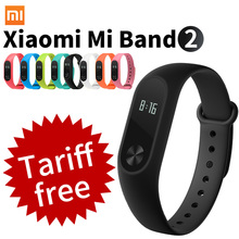 Original Xiaomi Mi Band 2 Smart Fitness Bracelet watch Wristband Miband OLED Touchpad Sleep Monitor Heart