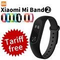 Original xiaomi mi banda 2 de fitness inteligente pulseira relógio pulseira miband mi band2 oled touchpad sono monitor de freqüência cardíaca
