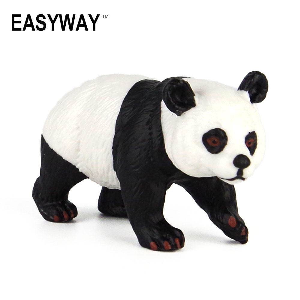 Toys-Set Animal Plastic Giant Bear Panda-Model Solid-Toys Chinese Cute Dark-Circles Mr.froger