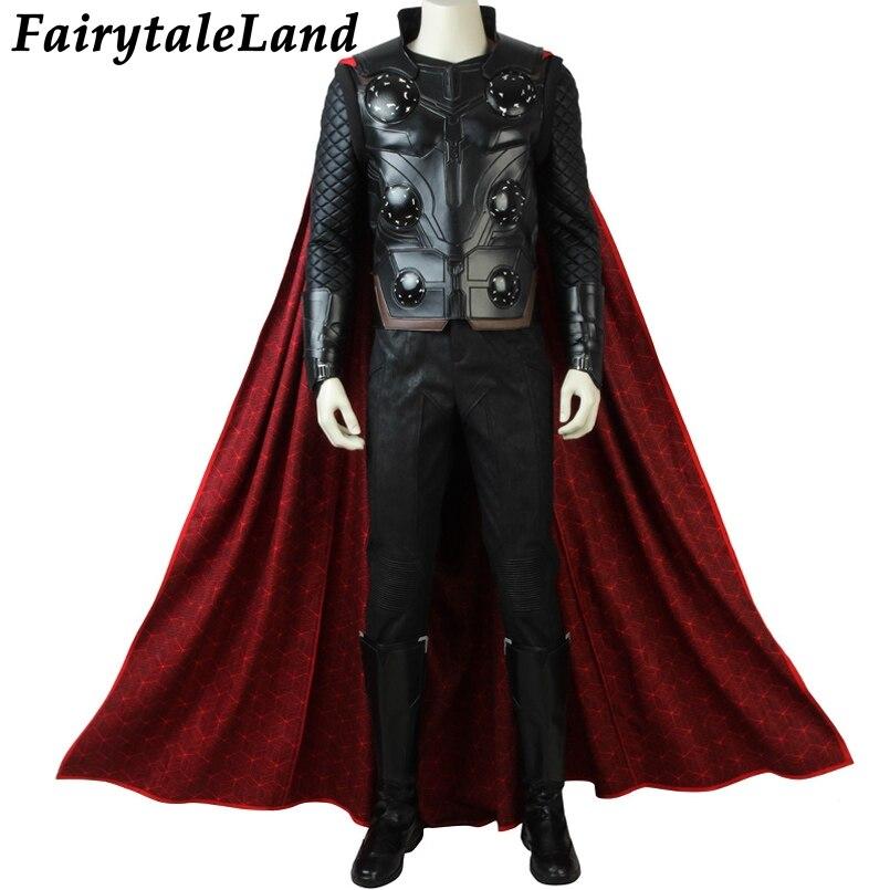 Avengers Infinity Oorlog Thor Cosplay Kostuum Carnaval Halloween Kostuums Superhero Thor Kostuum Cosplay Avengers 3 Pak