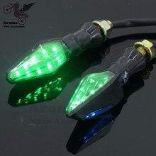 on sale motorbike turn signal light motorcycle turn indicator 12V font b ATV b font LED
