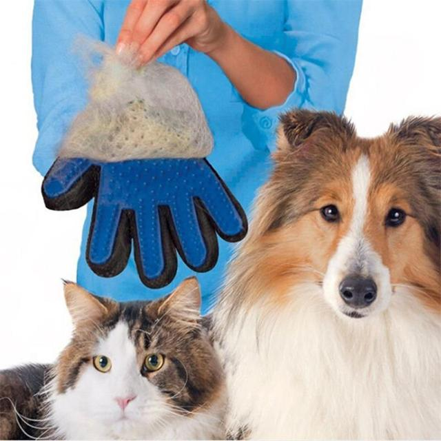 Magic Dog Grooming Brush Silicone Pet Hair Removal