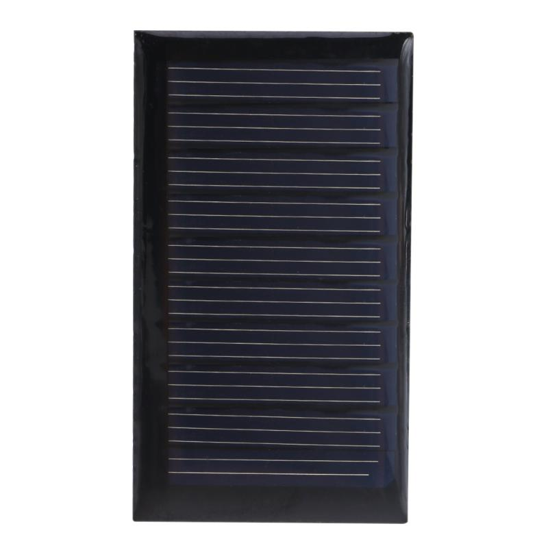 Alloyseed Solar Panel 30mA 5V 0.15W Polycrystalline Stored Energy Power Mini Solar Charger Power Supply DIY Board for Light