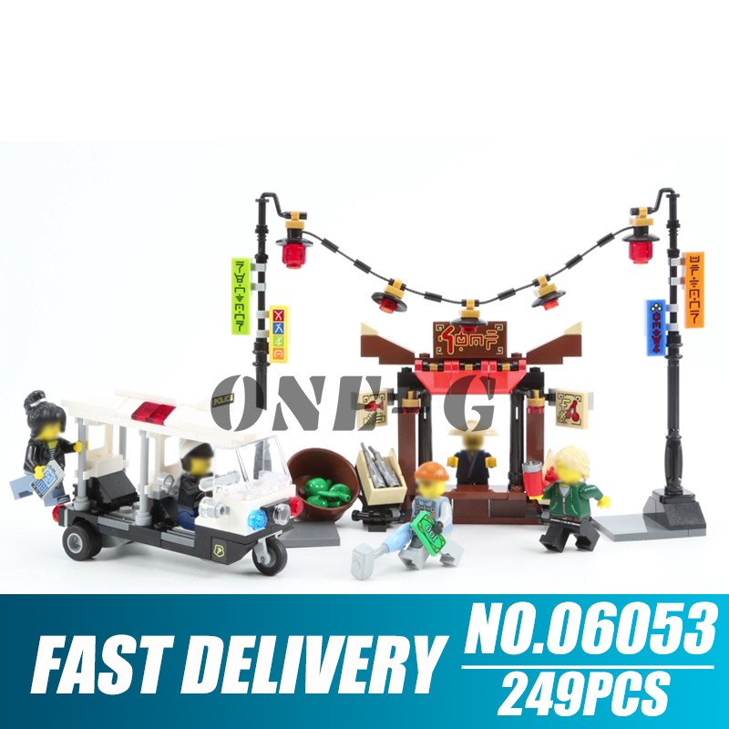 Model Building Toys & Hobbies Building Blocks 06053 249pcs Compatible With Legoingly Ninjago 70607 Bricks City Chase Figures Educational Toys For Children To Be Distributed All Over The World
