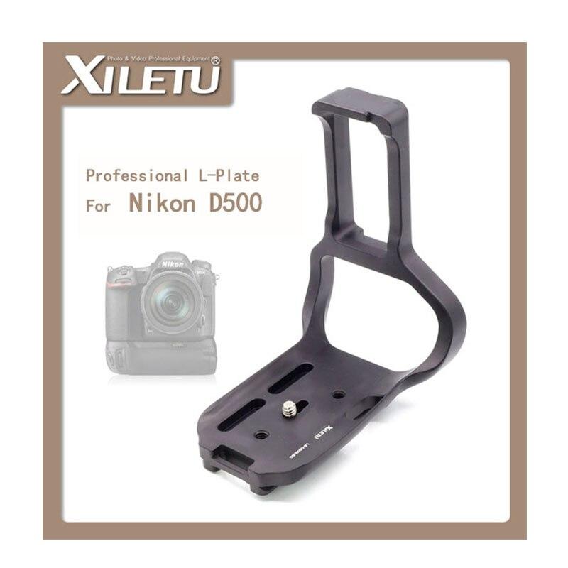 bilder für Xiletu lb-d500lbg allgemeine platte stativ quick release kamera zubehör für nikon d500
