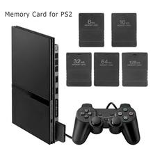 ALLOYSEED Game Accessories Memory Card Save Game Data Stick Extended Storage Card Module for PS2 Game Console Expansion Cards цена