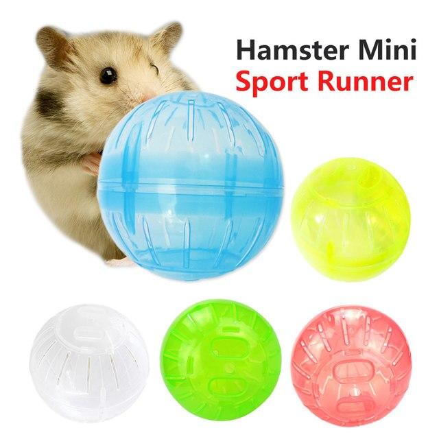 ПЭТ играть тренироваться мяч мыши грызун пробежки для мыши и хомяка Песчанка крыса маленький мяч пластиковая игрушка