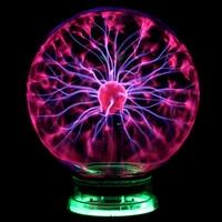 Plasma Ball Lamp Novelty Led Lights Magic Plasma Ball 220v Plasma Ball 6 Table Night Light