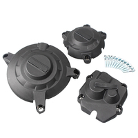 Motorcycle Engine Stator Cover Case Crankcase Set For Kawasaki ZX 10R 2011 2012 2013 2014 2015