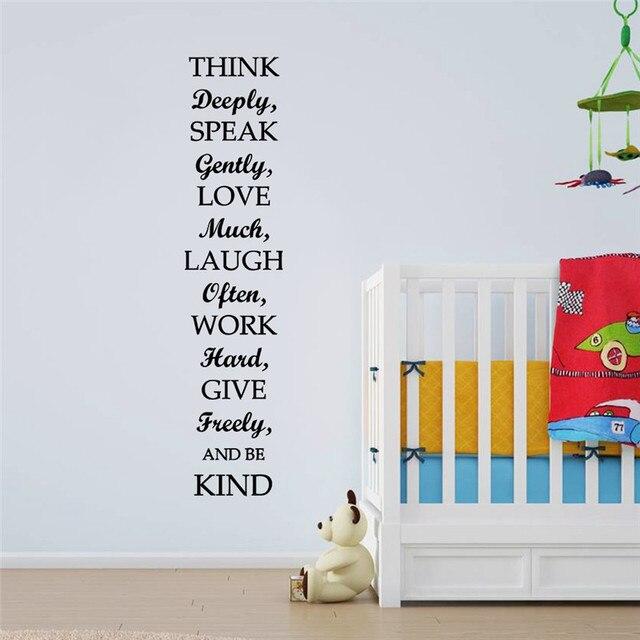 aliexpress koop nieuwste 30 132 cm familie regels inspiratie