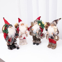 Christmas Scandinavian Nordic Christmas gifts Swedish Tomte Santa Claus Dolls Standing Figurine Xmas Tree Forest Ornaments Kids