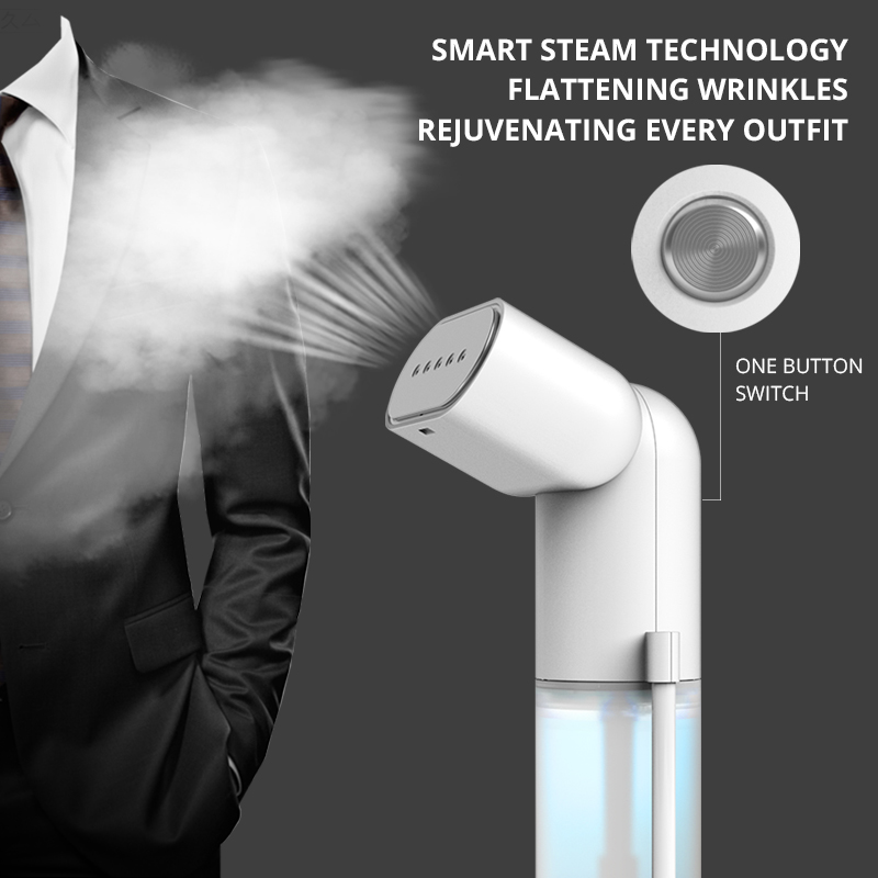 Image 2 - 220V Handy Steamer 900W Powerful Garment Steamer 180ml for Home Travelling Portable Clothes Cleaner Hanging Steam Iron-in Garment Steamers from Home Appliances