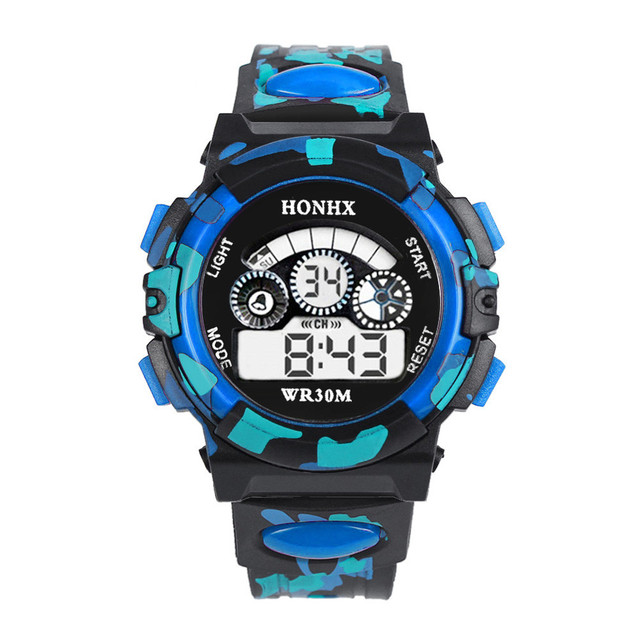 HONHX Brand Kids Watch Outdoor Multifunction Waterproof kid Child/Boy's Sports E