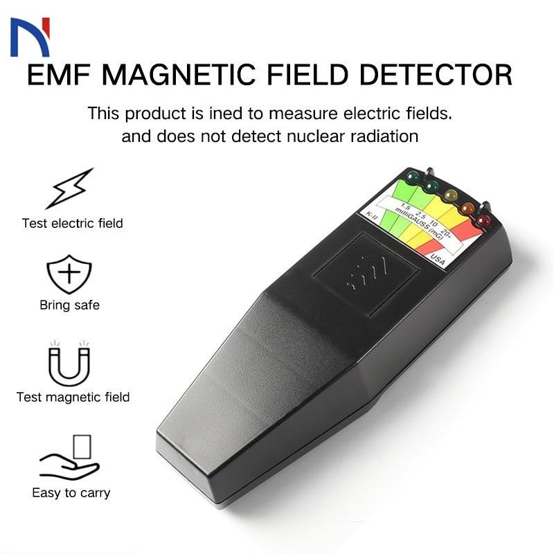 Handheld Electromagnetic Field Radiation Tester Digital LCD EMF Meter Electromag