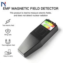 EMF Meter Electromagnetic Field Radiation Detector Handheld Digital LCD Dosimeter Tester K2 Ghost Meter EMF Detector professional field intensity indictor of low frequency emf meter emf828 electromagnetic field tester 0 1 400mg 1 4000mg