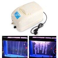 F 8900 120W 100L/min AC/DC Aquarium Air Pump Fish Tank Oxygen Pump Portable Ultra Silent Mini Air Compressor With 24m Air Tube