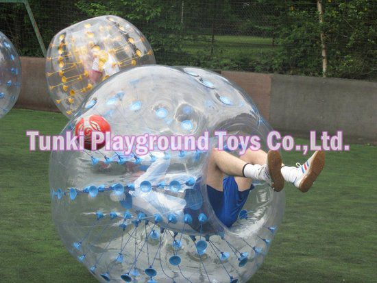 loopy bubble soccer ball inflatable Children Football Bumper Bubble Boccer Loopy Ball