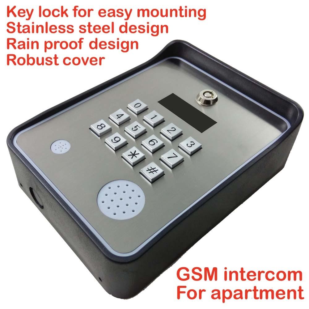 APPAREIL CLAVIER GSM Contrôleur d'accès sans porte pour porte - Sécurité et protection - Photo 2