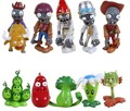 New Arrival Free Shipping 10pcs/lot Plants Vs Zombies PVZ Collection PVC Figures Cowboy Toy And Gifts For Children