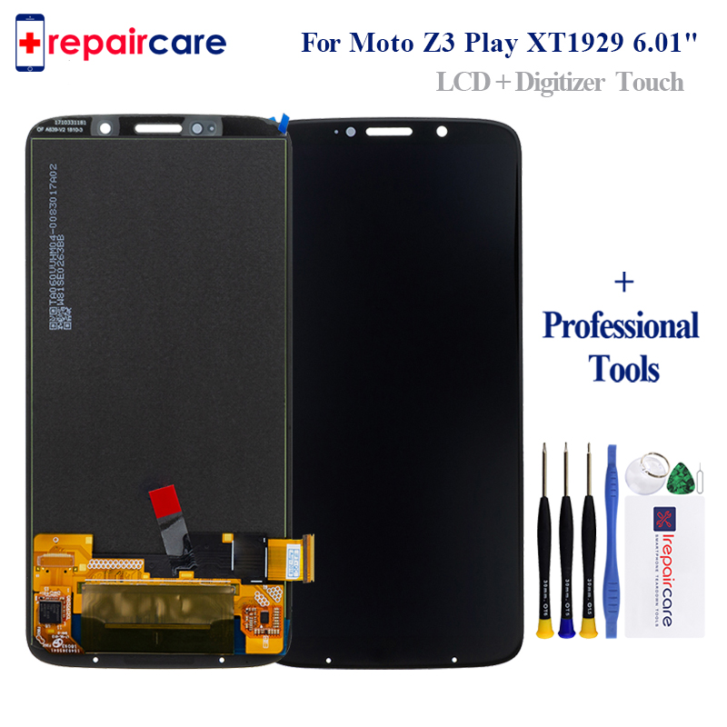 Tested Original LCD For Moto Z3 Play LCD Z3 Play Display For Moto Z3 Play XT1929 Display LCD Screen Touch DigitizerTested Original LCD For Moto Z3 Play LCD Z3 Play Display For Moto Z3 Play XT1929 Display LCD Screen Touch Digitizer
