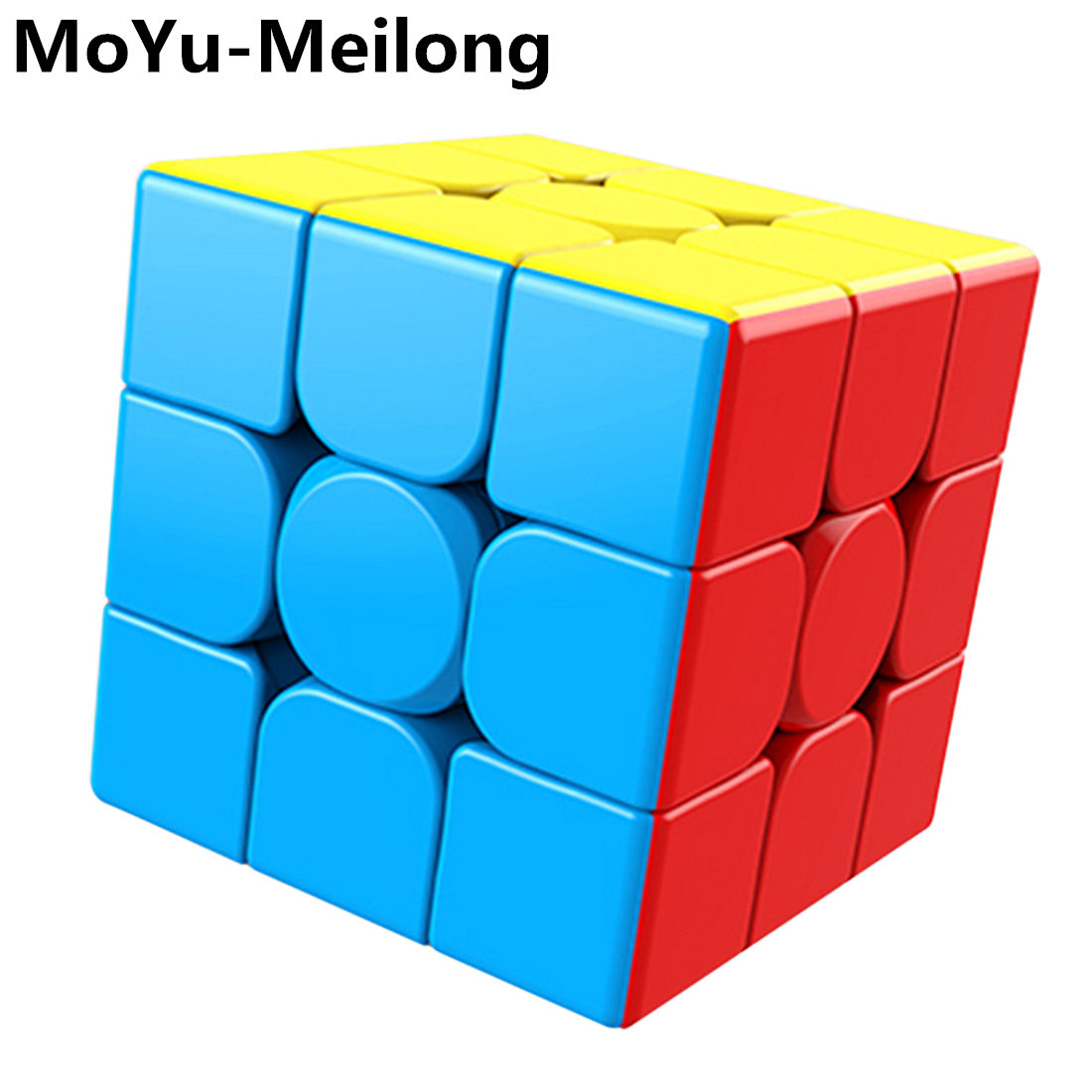 MoYu 3x3x3 Meilong Magic Cube Stickerless Puzzle Cubes Professional Speed Cubo Magico Educational Toys For Students