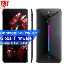 Перейти на Алиэкспресс и купить original zte nubia red magic mars mobile phone 6.0дюйм. 8gb ram 128gb rom snapdragon 845 octa core front 16.0mp rear 8mp game phone