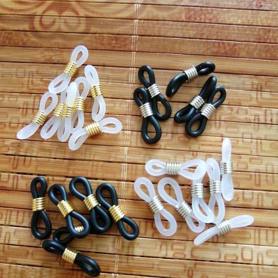100pcs Eye Glass Holder Loop Ends Rubber Spectacle 19mm long US SELLER