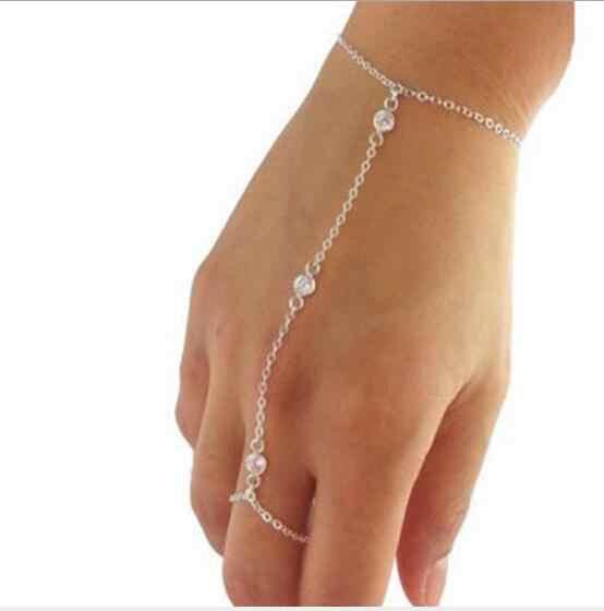 Tenande nouvelle mode infini feuilles paix colombe croix simulé perle Bracelets & Bracelets pour les femmes offre spéciale saint valentin cadeau
